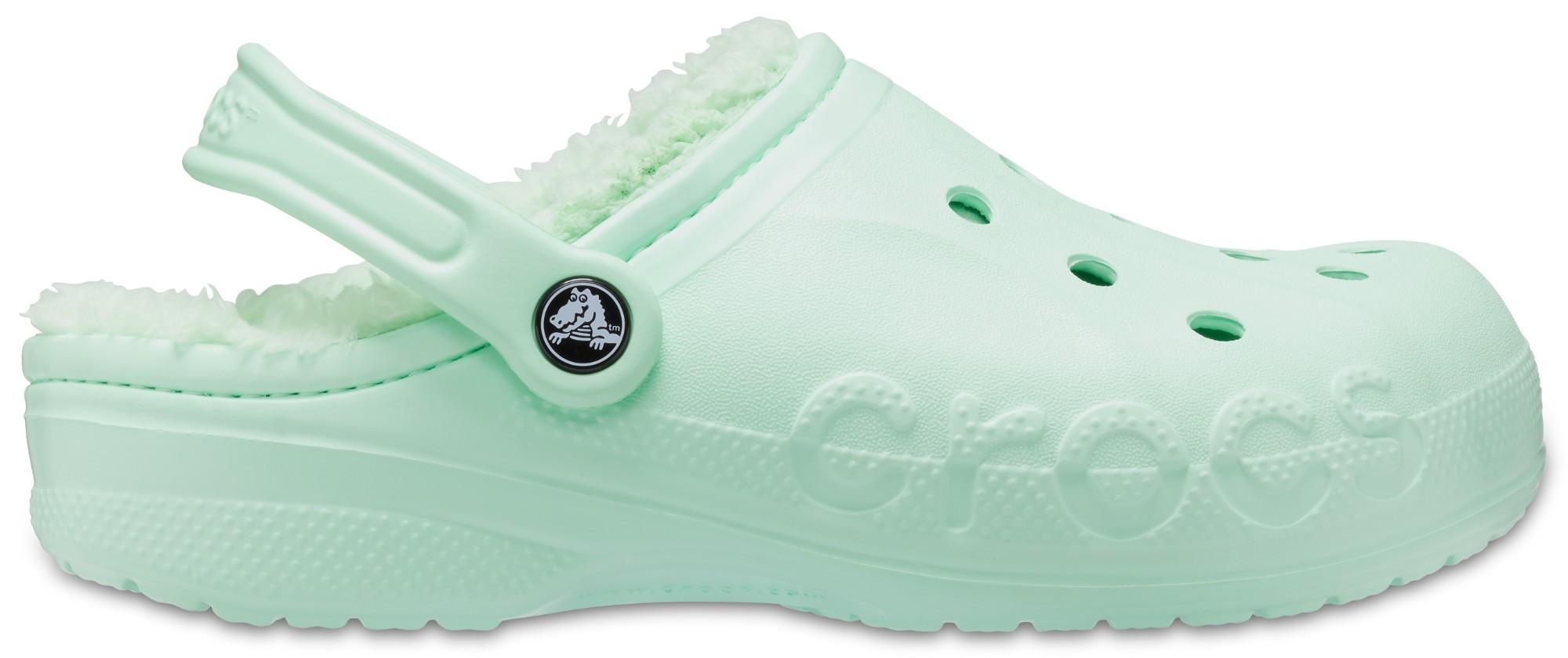 Crocs™ Baya Lined Clog Neo Mint/Neo Mint 37,5