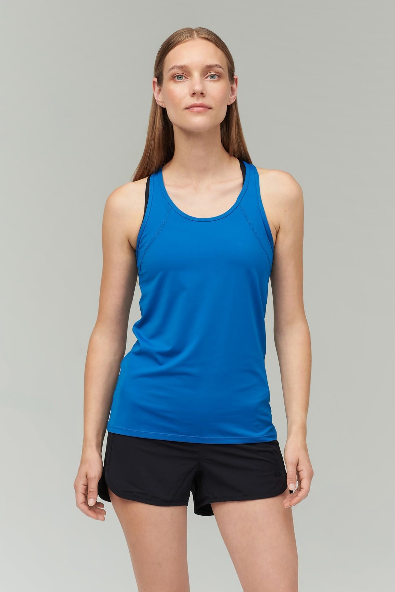 AUDIMAS Funkc. berankoviai marškinėliai 2011-228 Blue Sapphire M