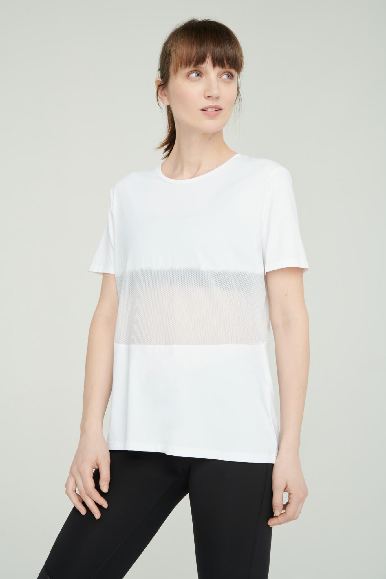 AUDIMAS Funkcionalūs marškinėliai 2111-072 White M