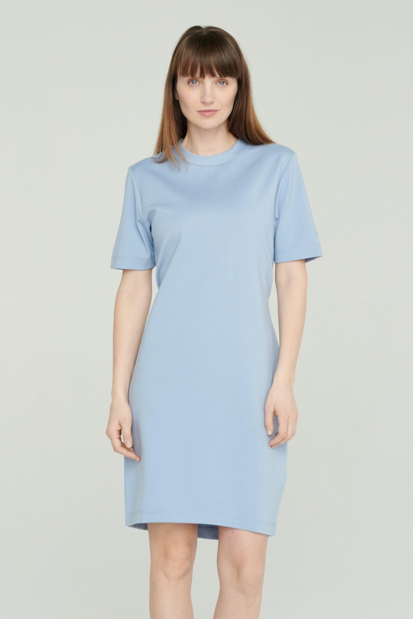 AUDIMAS Tampri suknelė trumpomis rankov. 2111-173 Forever Blue S