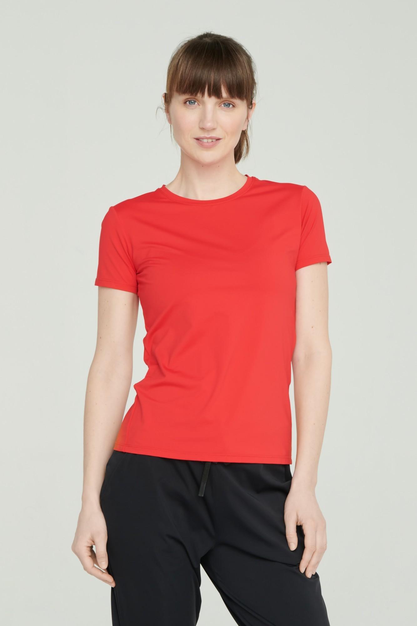 AUDIMAS Apranga Funkcionalūs marškinėliai 1821-227 High Risk Red L