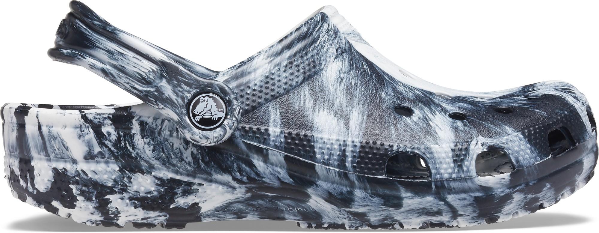 Crocs™ Classic Marbled Clog White/Black 36,5