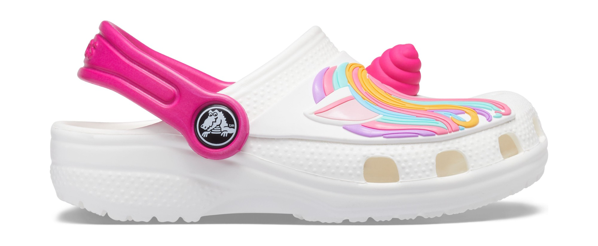 Crocs™ Fun Lab Classic I AM Unicorn Clog White 29