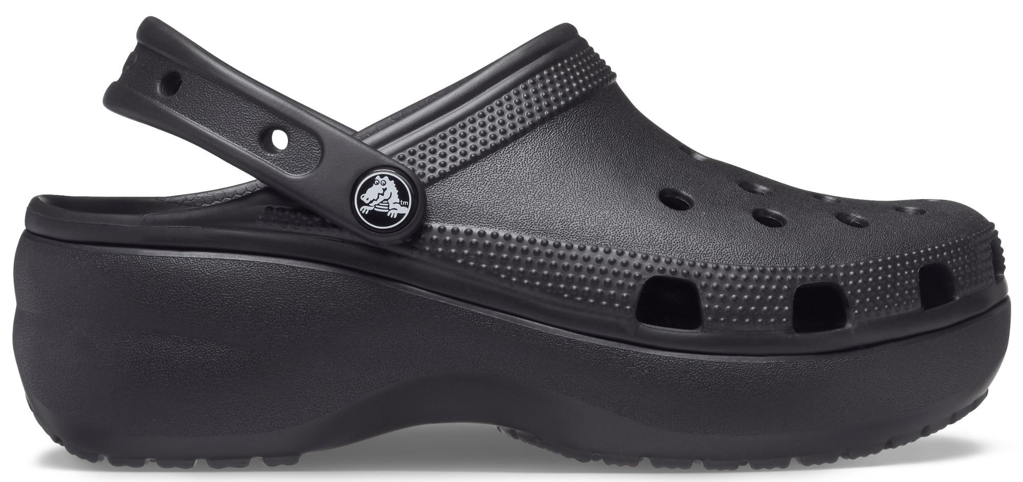 Crocs™ Classic Platform Clog Black 38,5