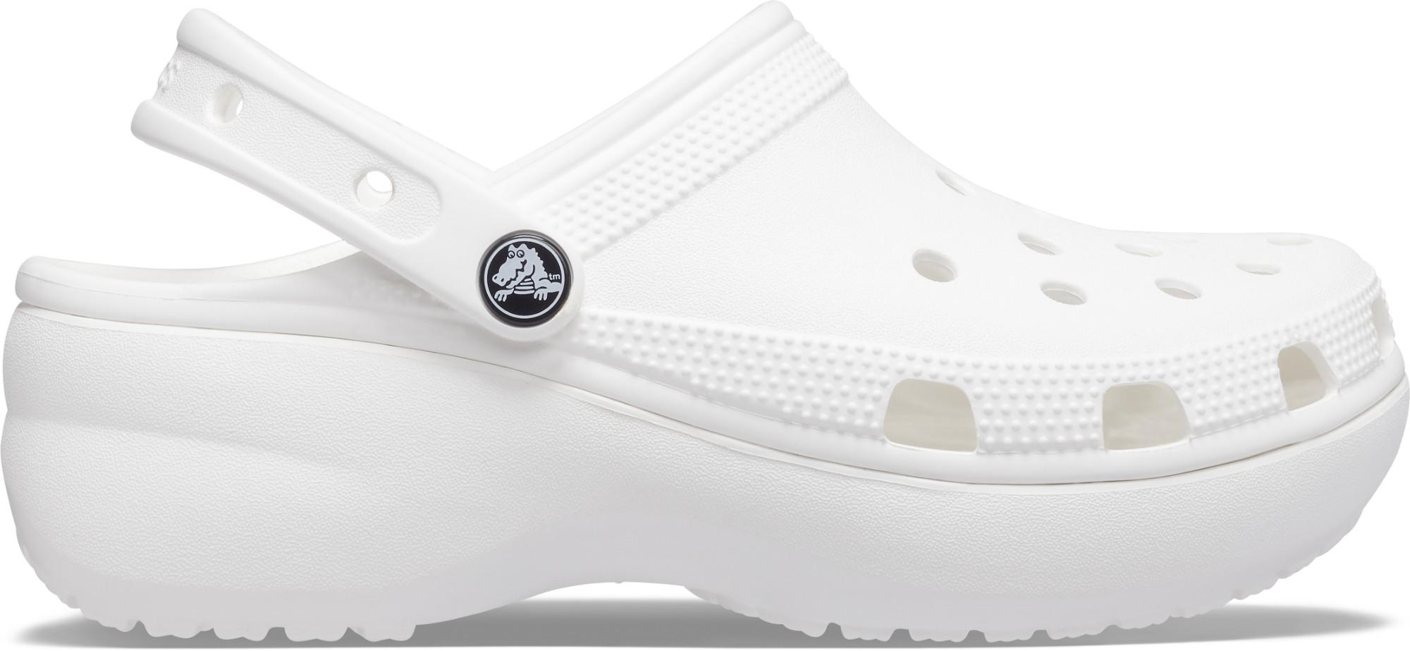 Crocs™ Classic Platform Clog White 41