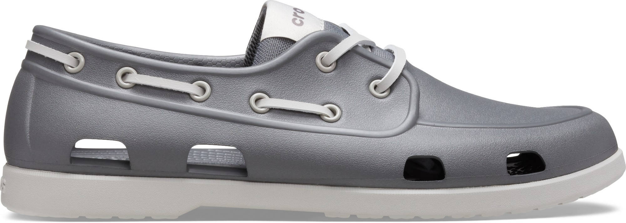 Crocs™ Classic Boat Shoe Mens Slate Grey/Pearl White 47,5
