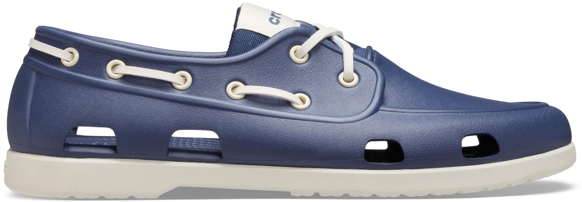 Crocs™ Classic Boat Shoe Mens Navy/Stucco 45,5