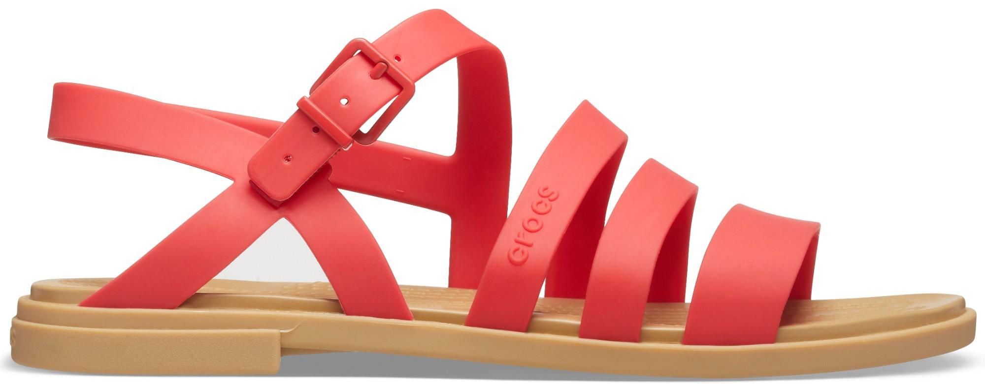 Crocs™ Tulum Sandal Womens Flame 42,5