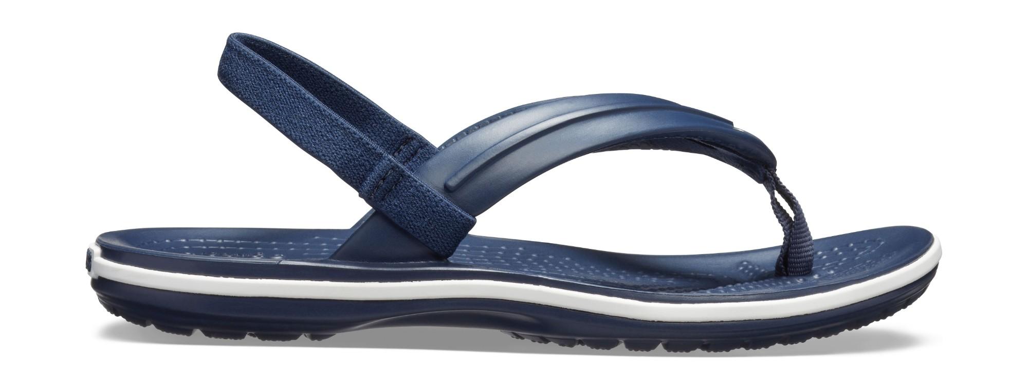 Crocs™ Crocband Strap Flip Kid's Navy 28