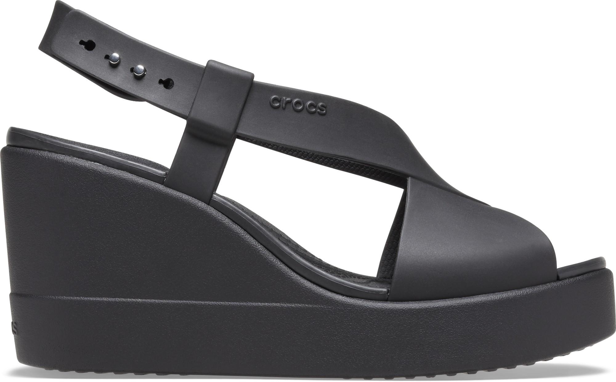 Crocs™ Brooklyn High Wedge Womens Black/Black 36,5