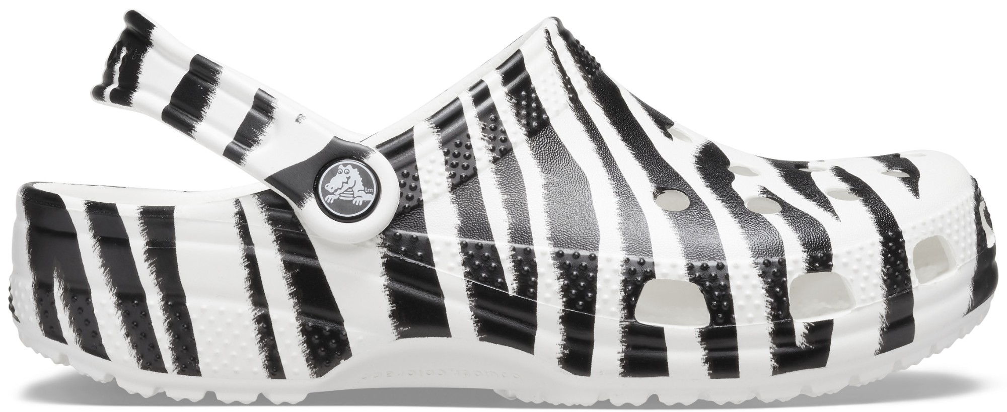 Crocs™ Classic Animal Print Clog White/Zebra Print 43,5