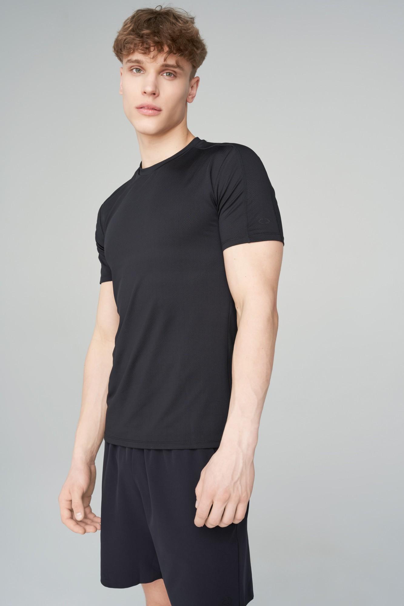 AUDIMAS Funkcionalūs marškinėliai 2021-495-1 Black XL