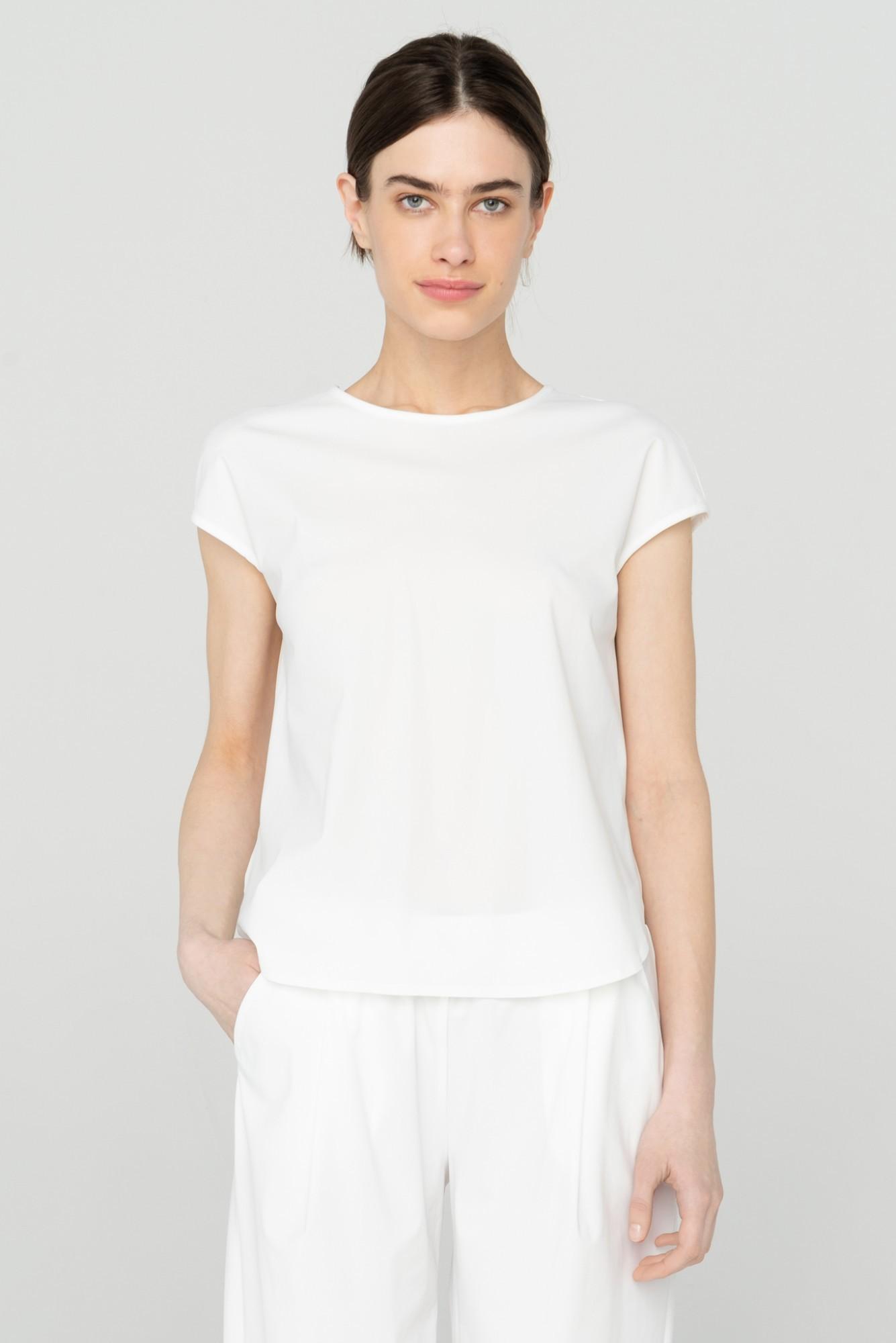 AUDIMAS Lengvi marškinėliai SENSITIVE 2111-023 Milky White S