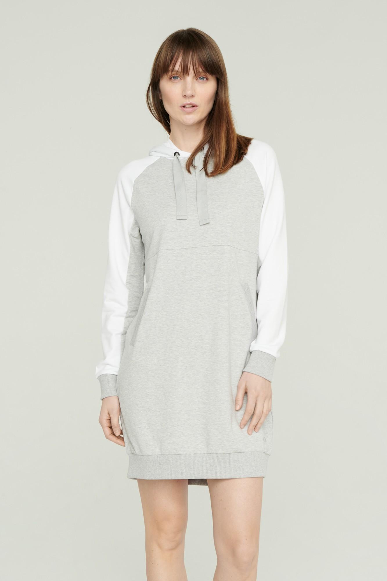 AUDIMAS Švelni modalo suknelė 2111-070 High Rise Melange L