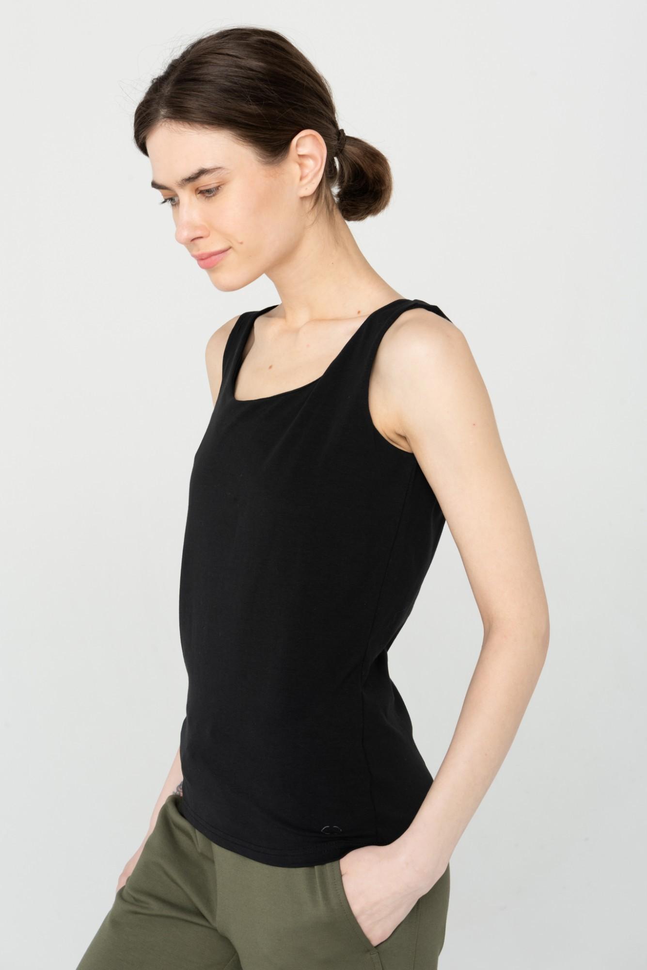 AUDIMAS Medviln. berankoviai marškinėliai 2111-079 Black XL