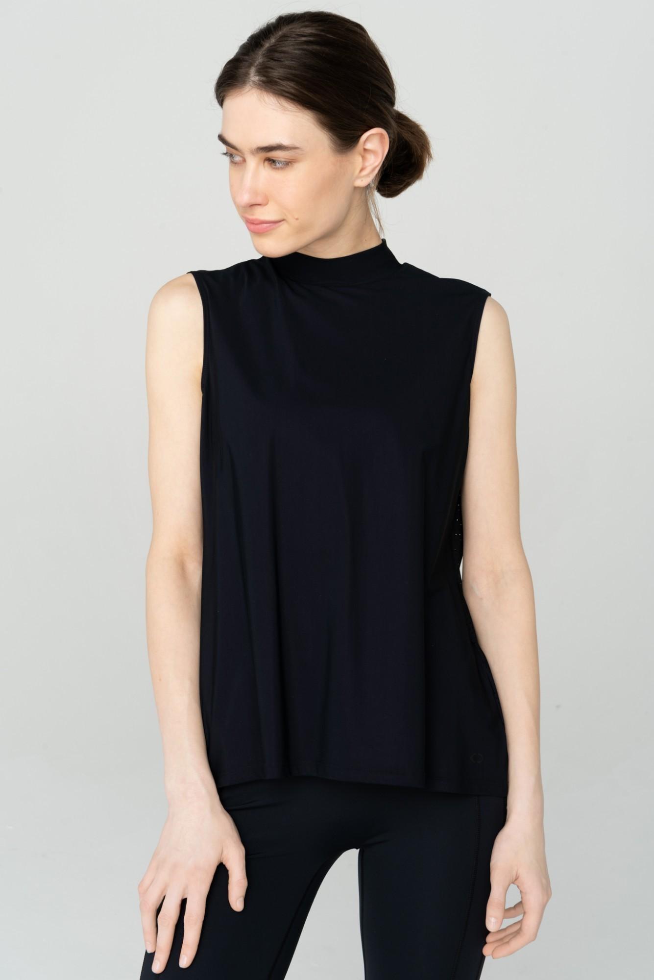 AUDIMAS Lengvi berankoviai marškinėliai 2111-091 Black S