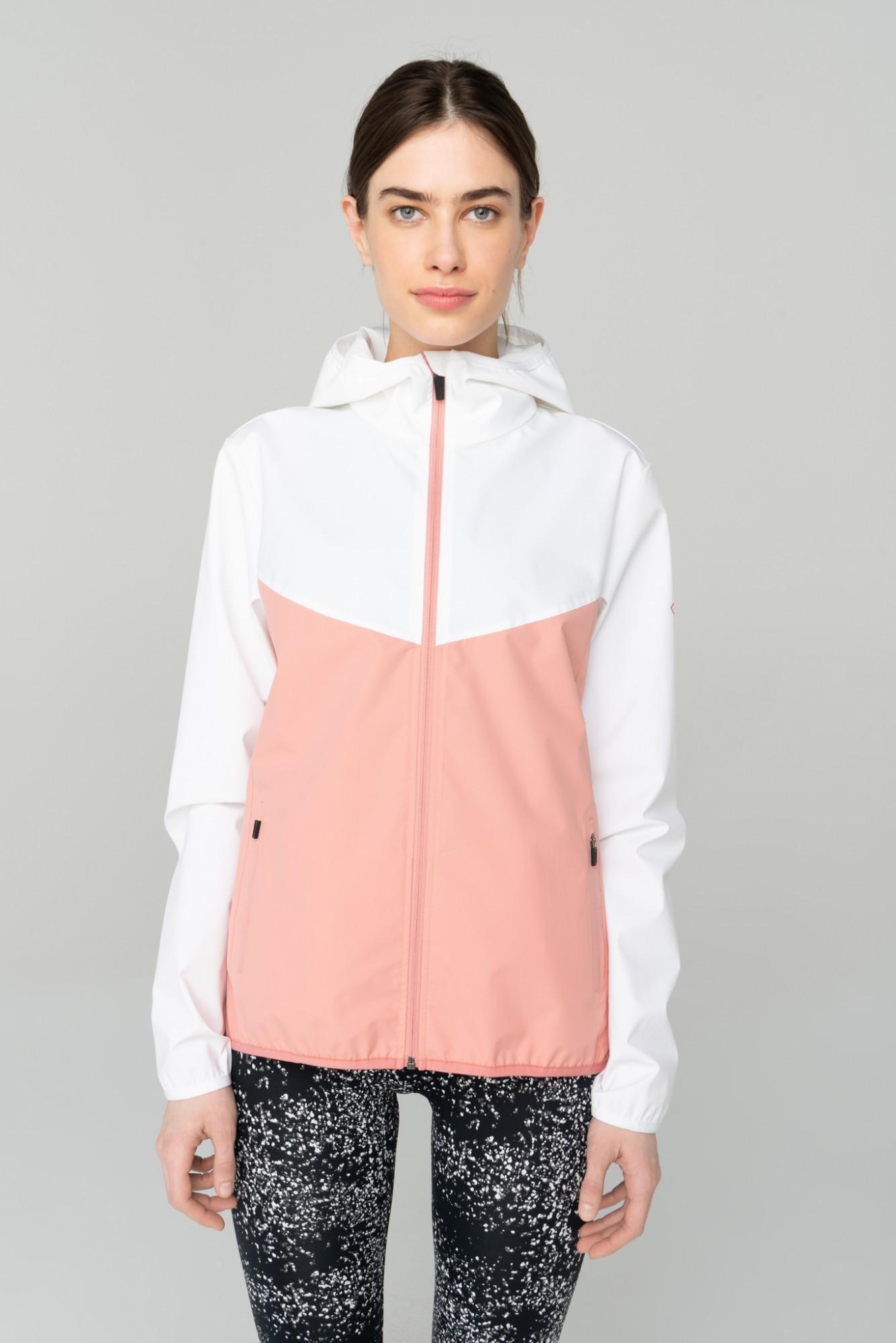 AUDIMAS Lengva vėjastriukė 2111-301 Pink/White XL