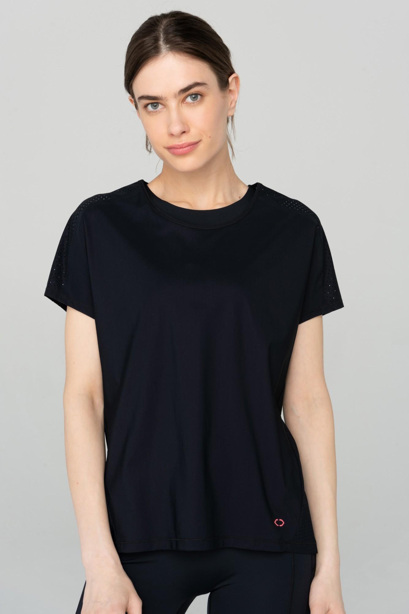 AUDIMAS Funkc. marškinėliai SENSITIVE 2111-311 Black M