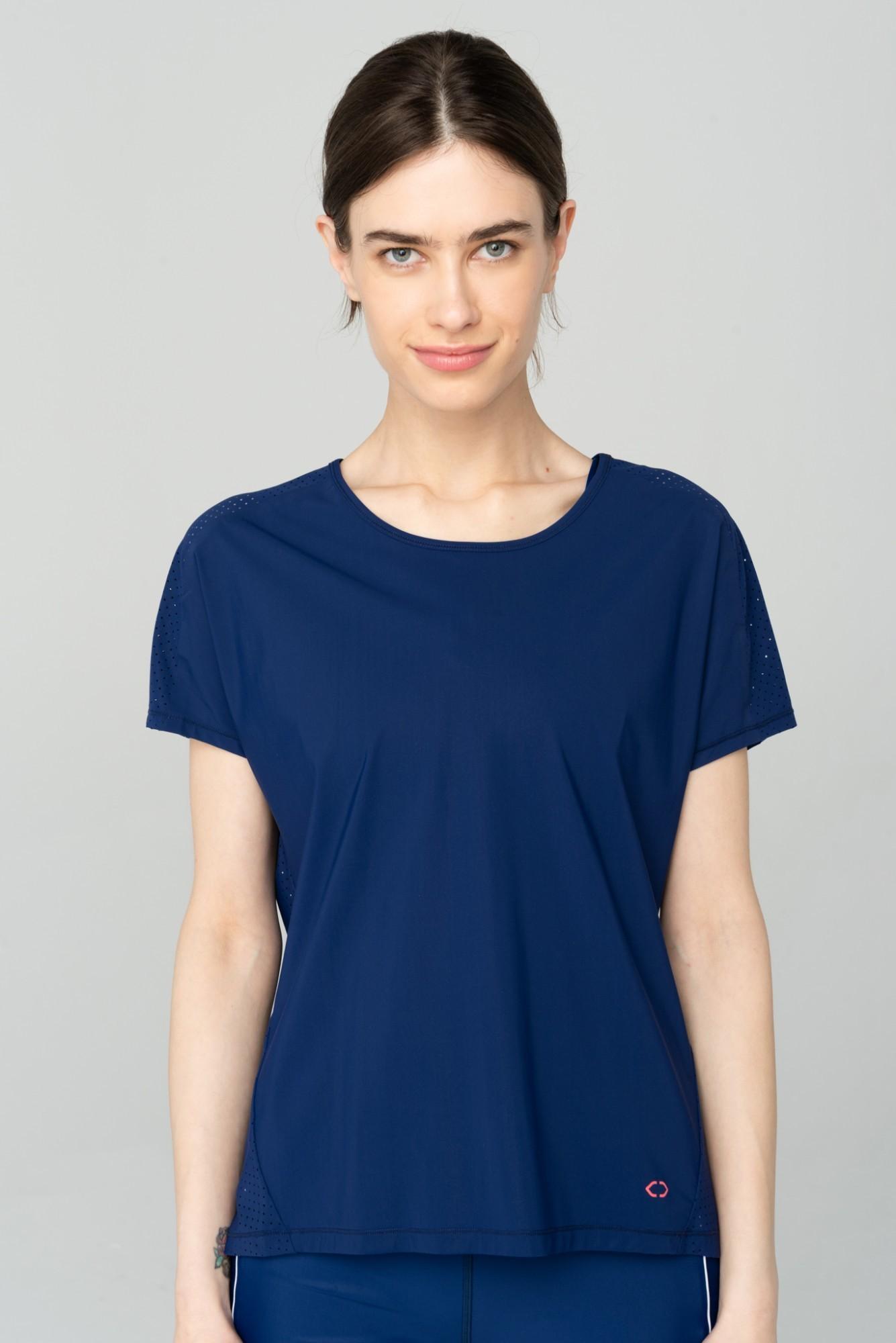 AUDIMAS Funkc. marškinėliai SENSITIVE 2111-311 Blue Depths S