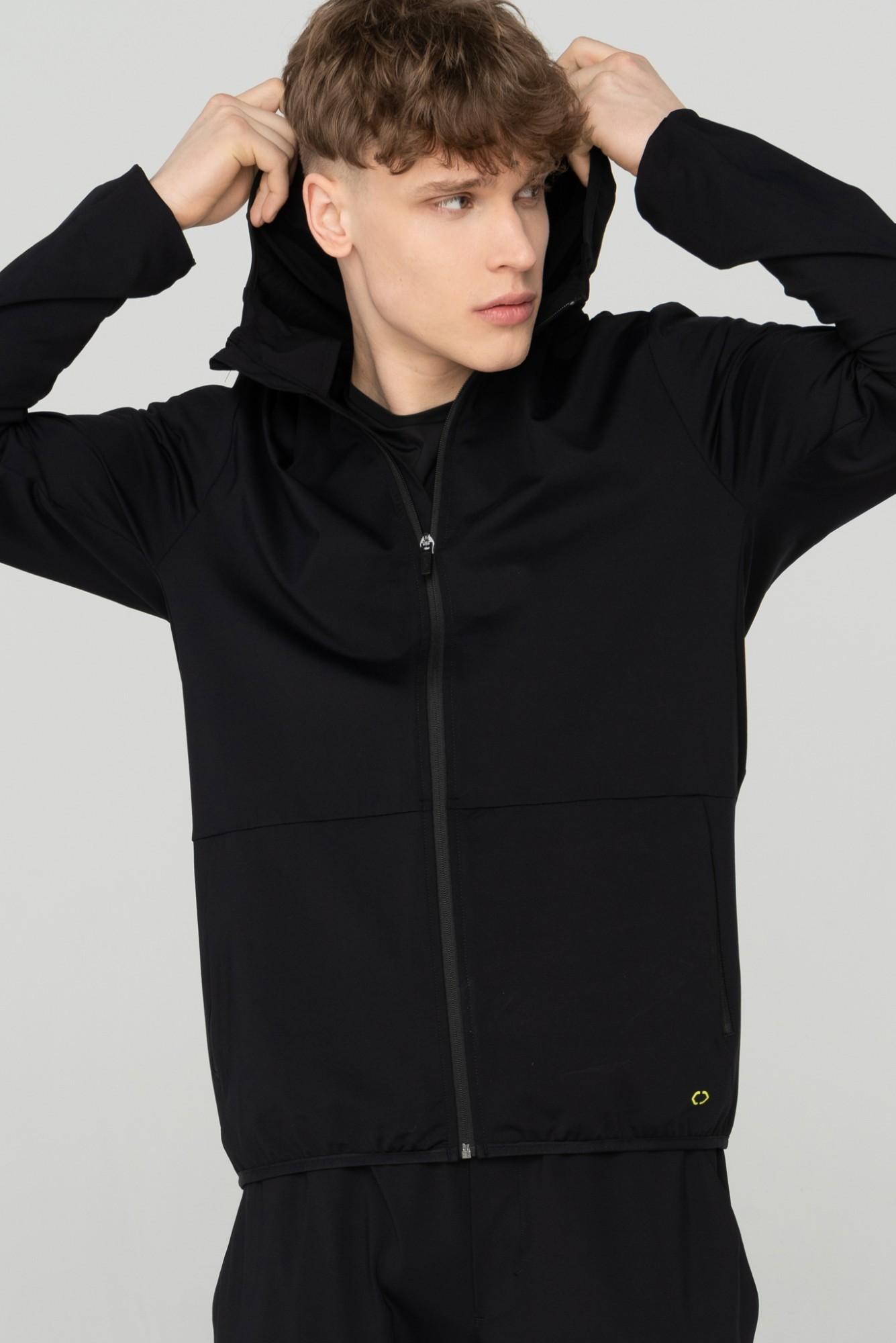 AUDIMAS Funkcionalus atsegamas džemperis 2111-683 Black S