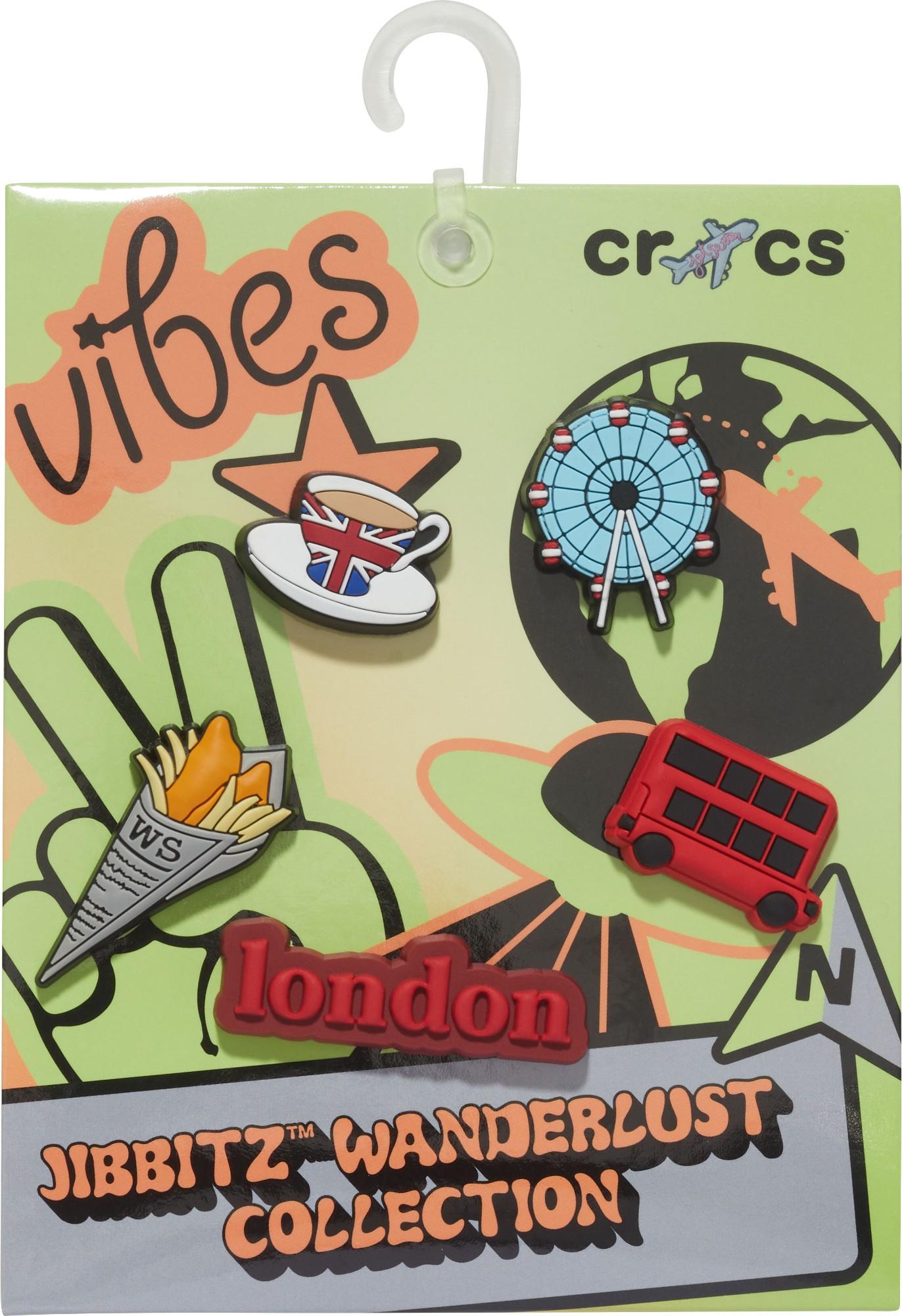 Crocs™ Crocs LONDON CITY WONDERLUST 5-PACK G0783200-MU