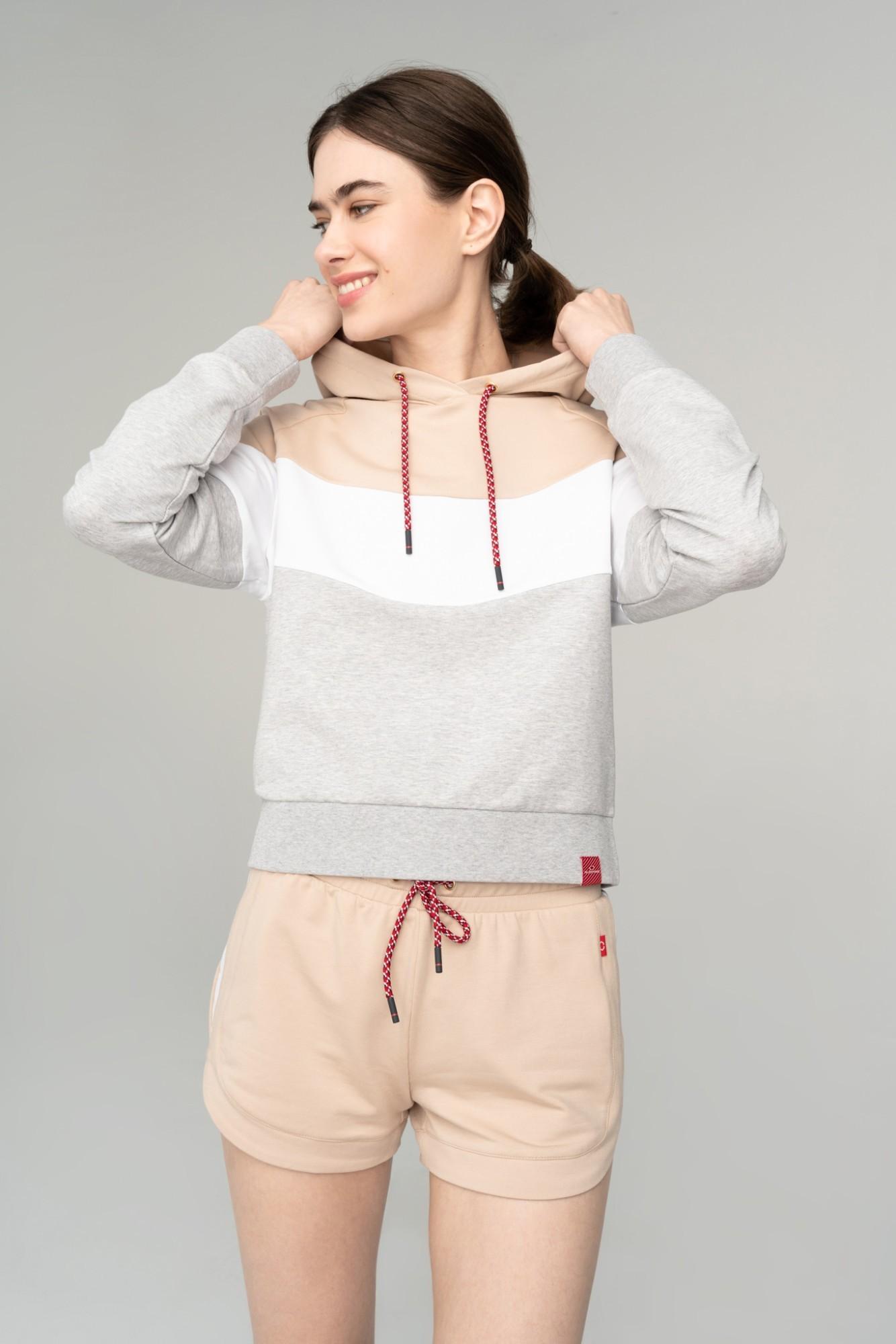 AUDIMAS Švelnus modalo džemp. su gobtuvu 2111-225 Doeskin M