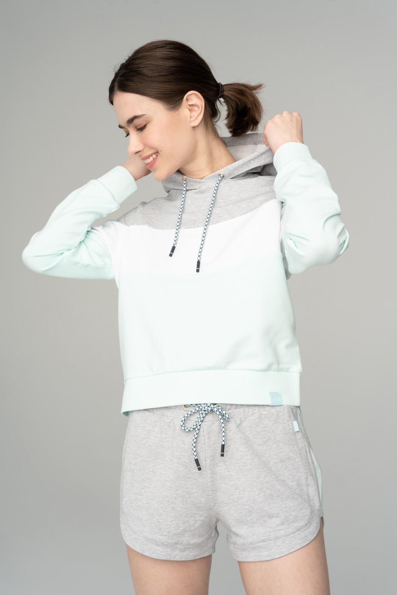 AUDIMAS Švelnus modalo džemp. su gobtuvu 2111-225 Soothing Sea XL