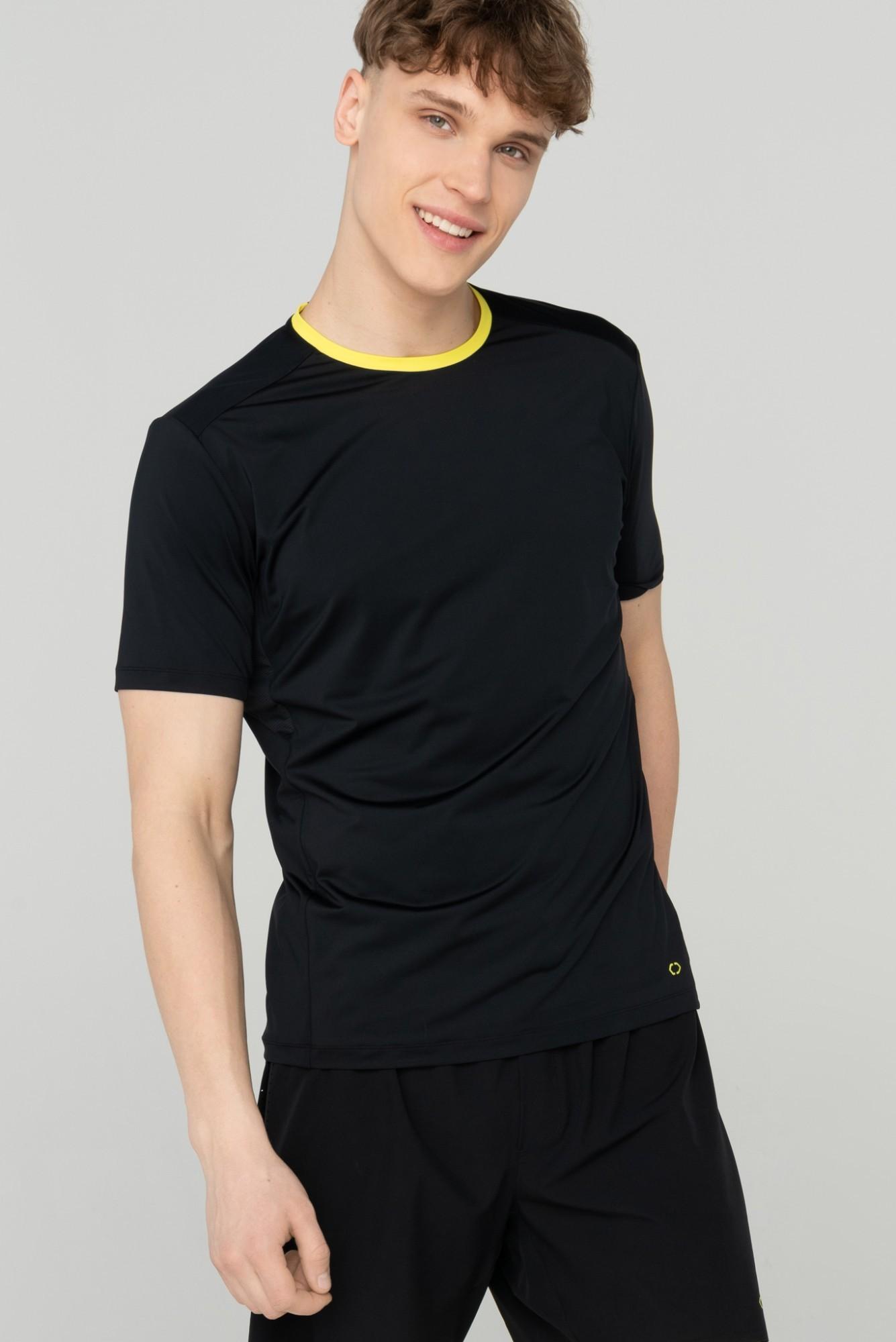 AUDIMAS Funkcionalūs marškinėliai 2111-678 Black M