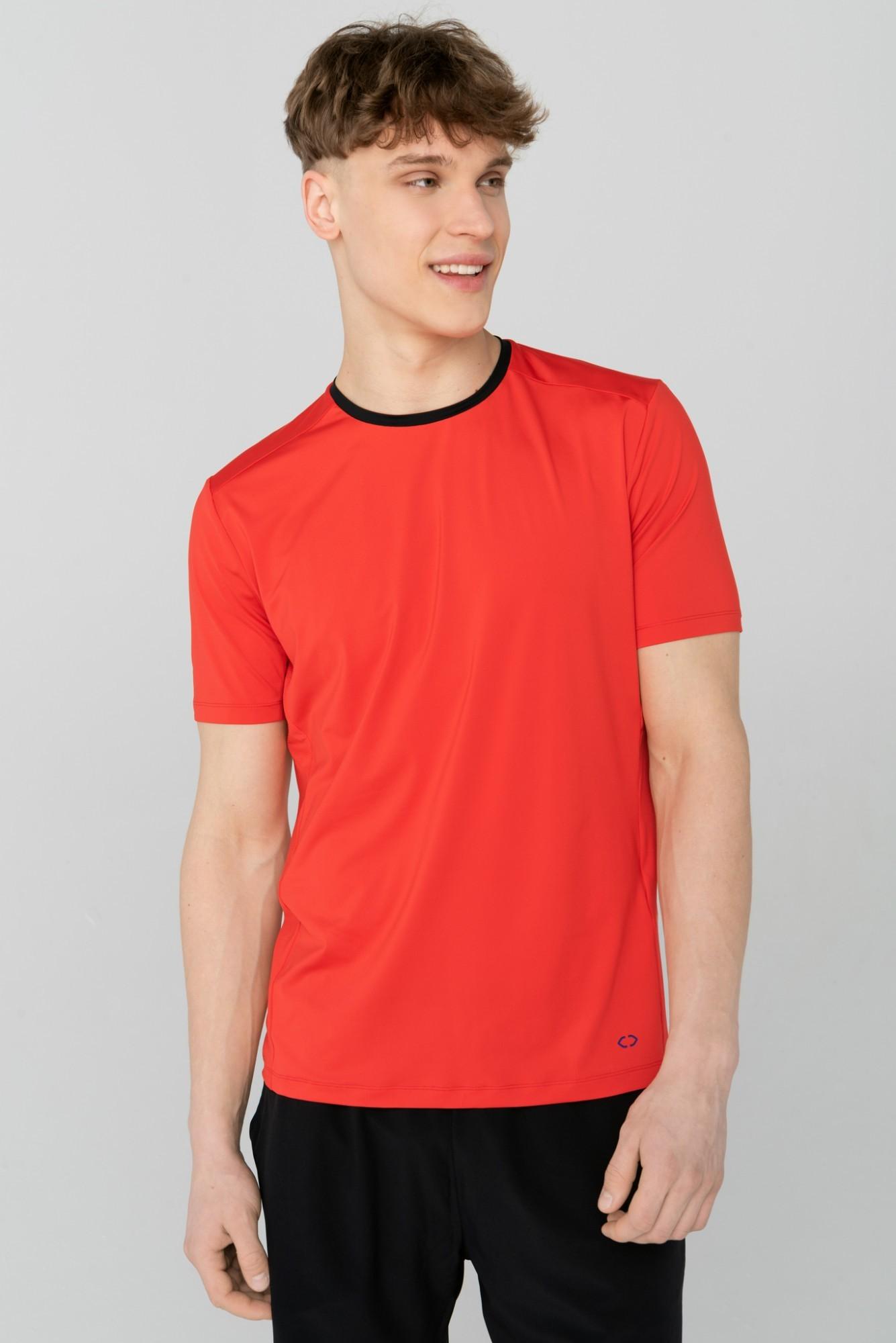 AUDIMAS Funkcionalūs marškinėliai 2111-678 Flame Scarlet S