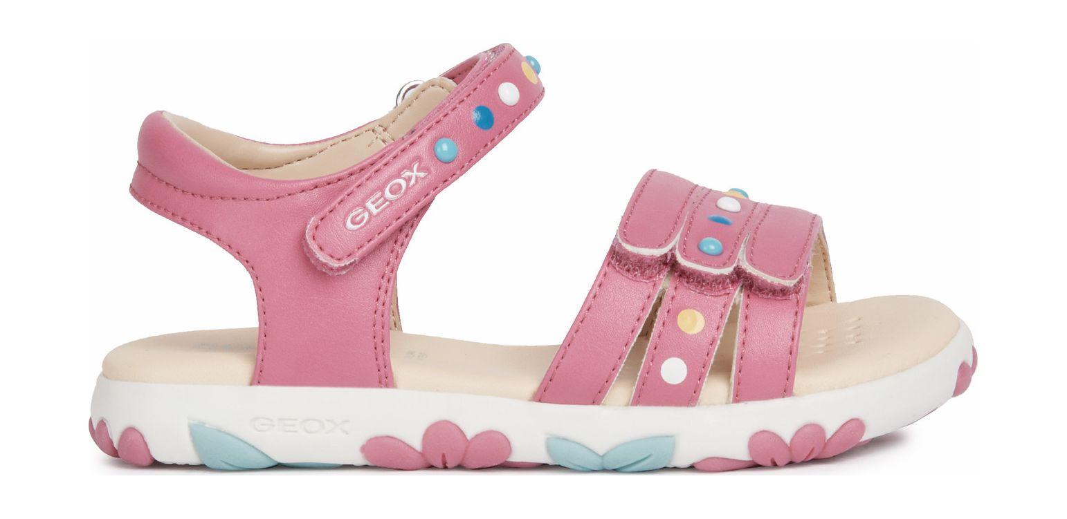 GEOX Sandal Haiti Girl J158ZC000BC Pink C8002 27