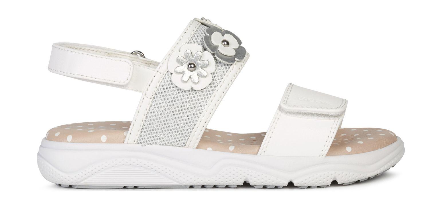 GEOX Sandal Deaphne Girl J15DUI0BCEW White C1000 36
