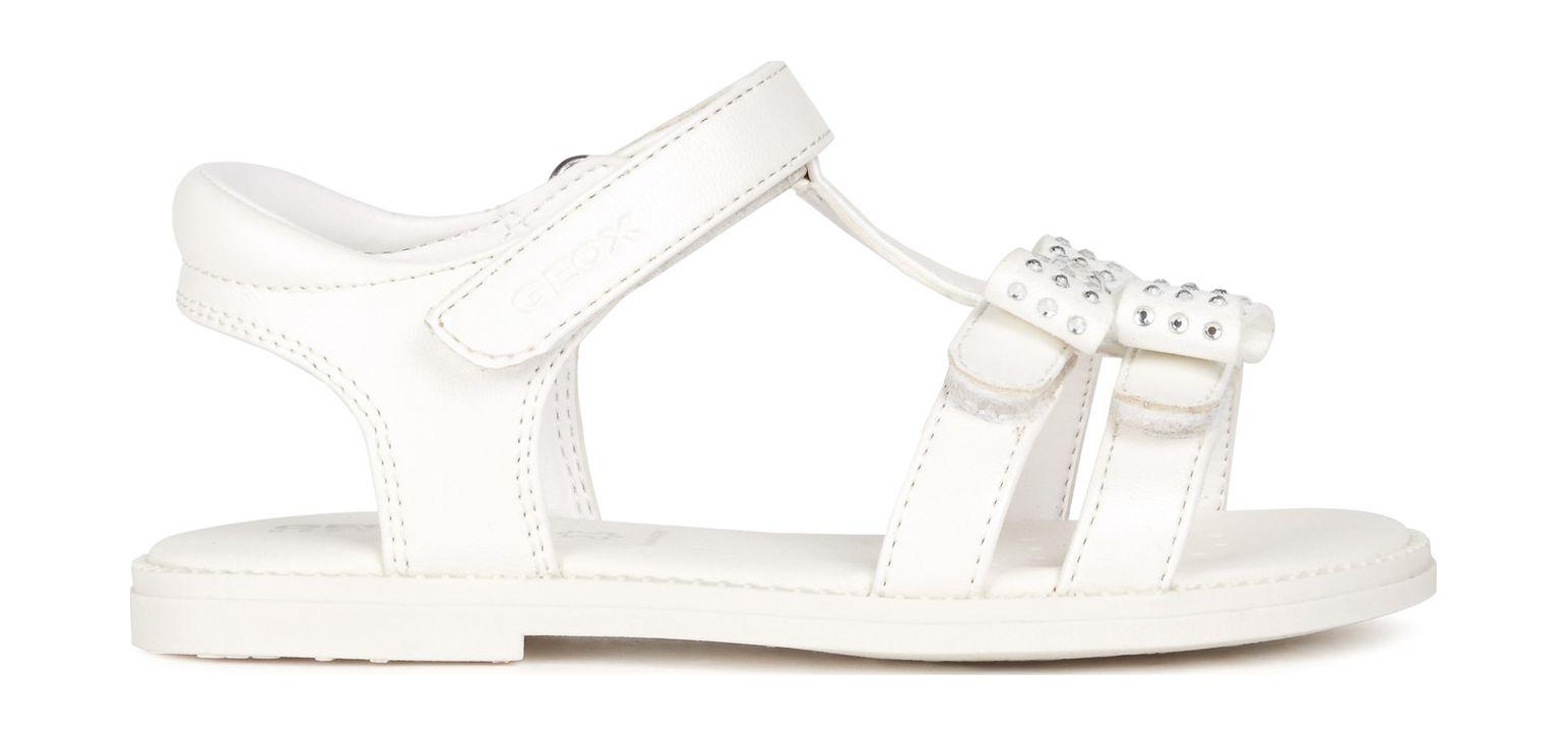 GEOX Sandal Karly Girl J1535G000NF White C1000 33