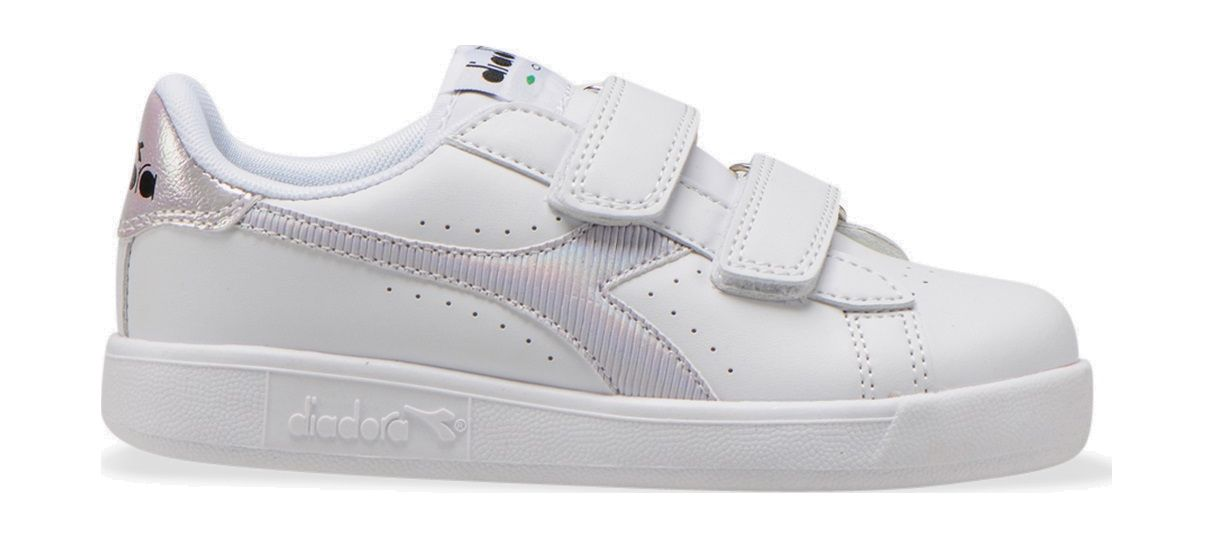 DIADORA Game P PS Girl White/Orchid Bloom 16,5