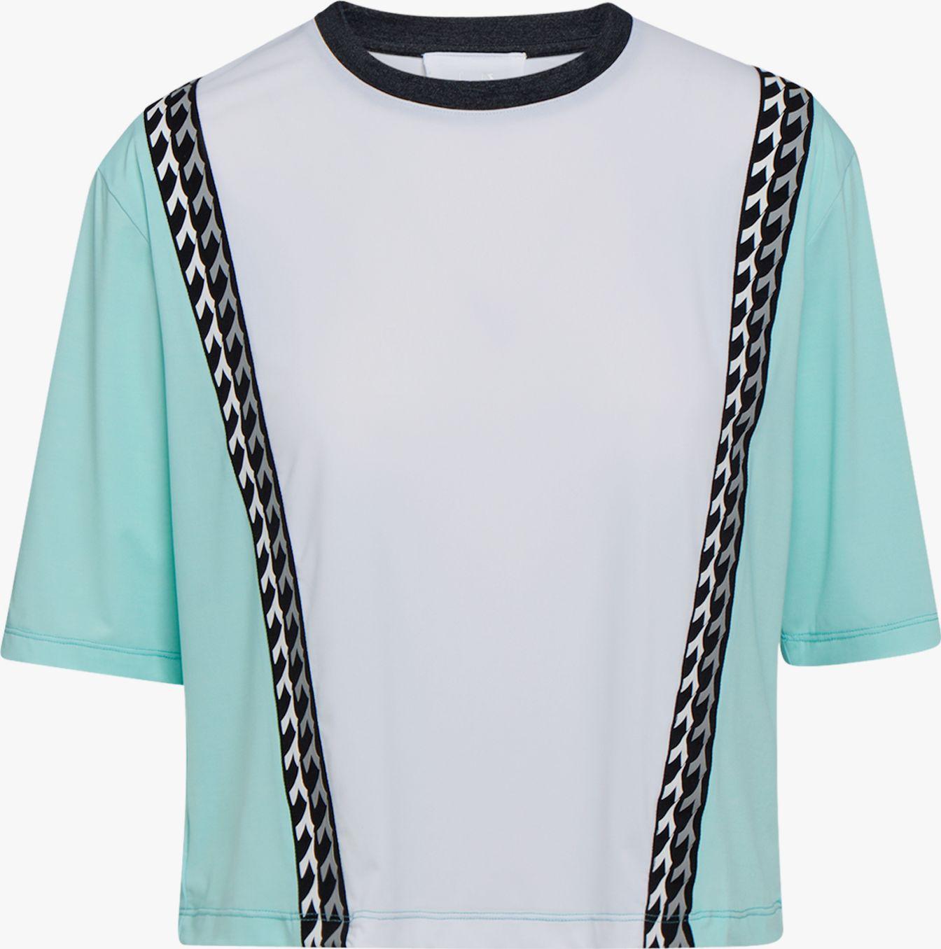 DIADORA L. SS T-Shirt Be One Tech Blue Tint/Goldfinch L