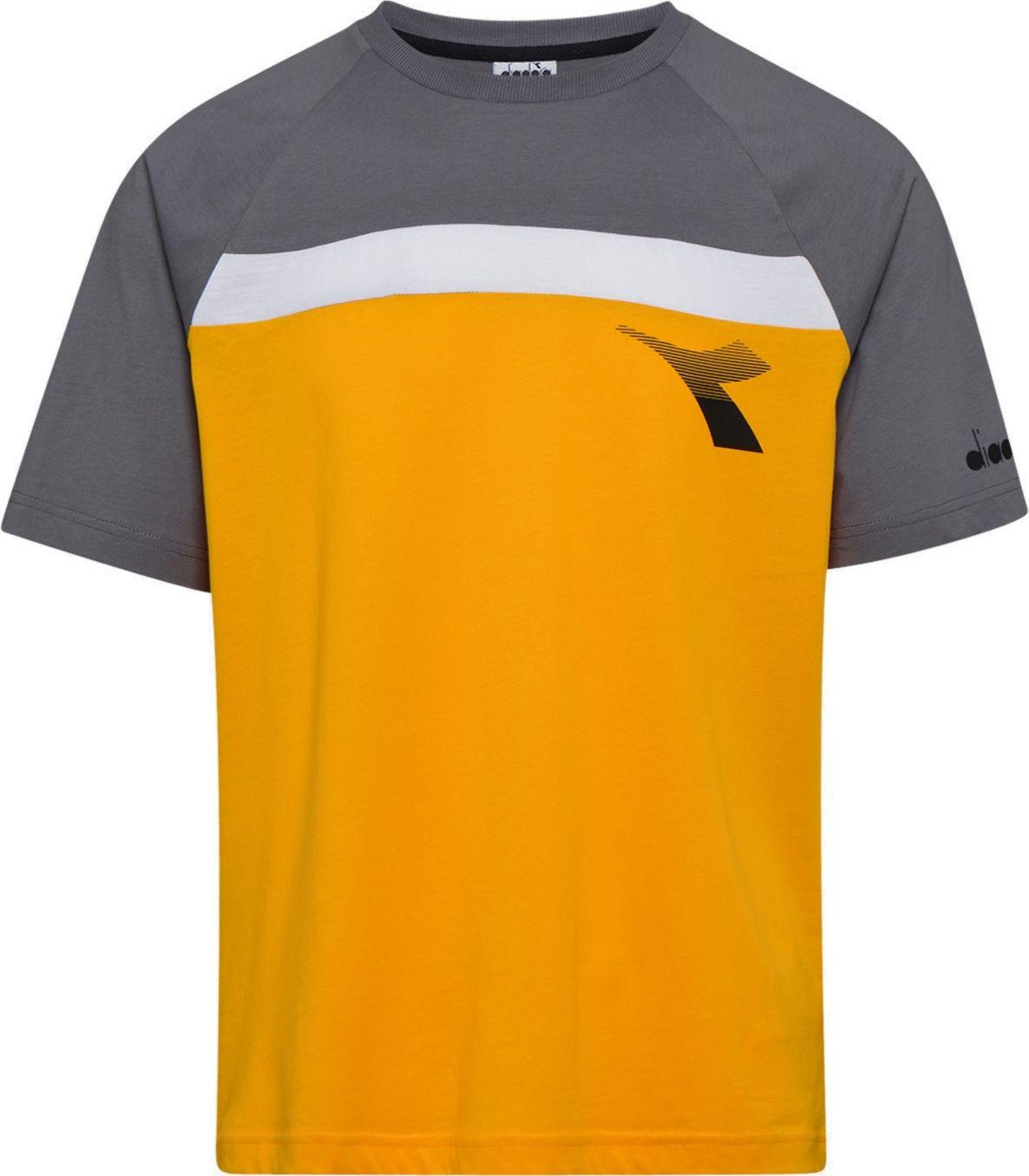 DIADORA T-Shirt SS Club Yellow Saffron L