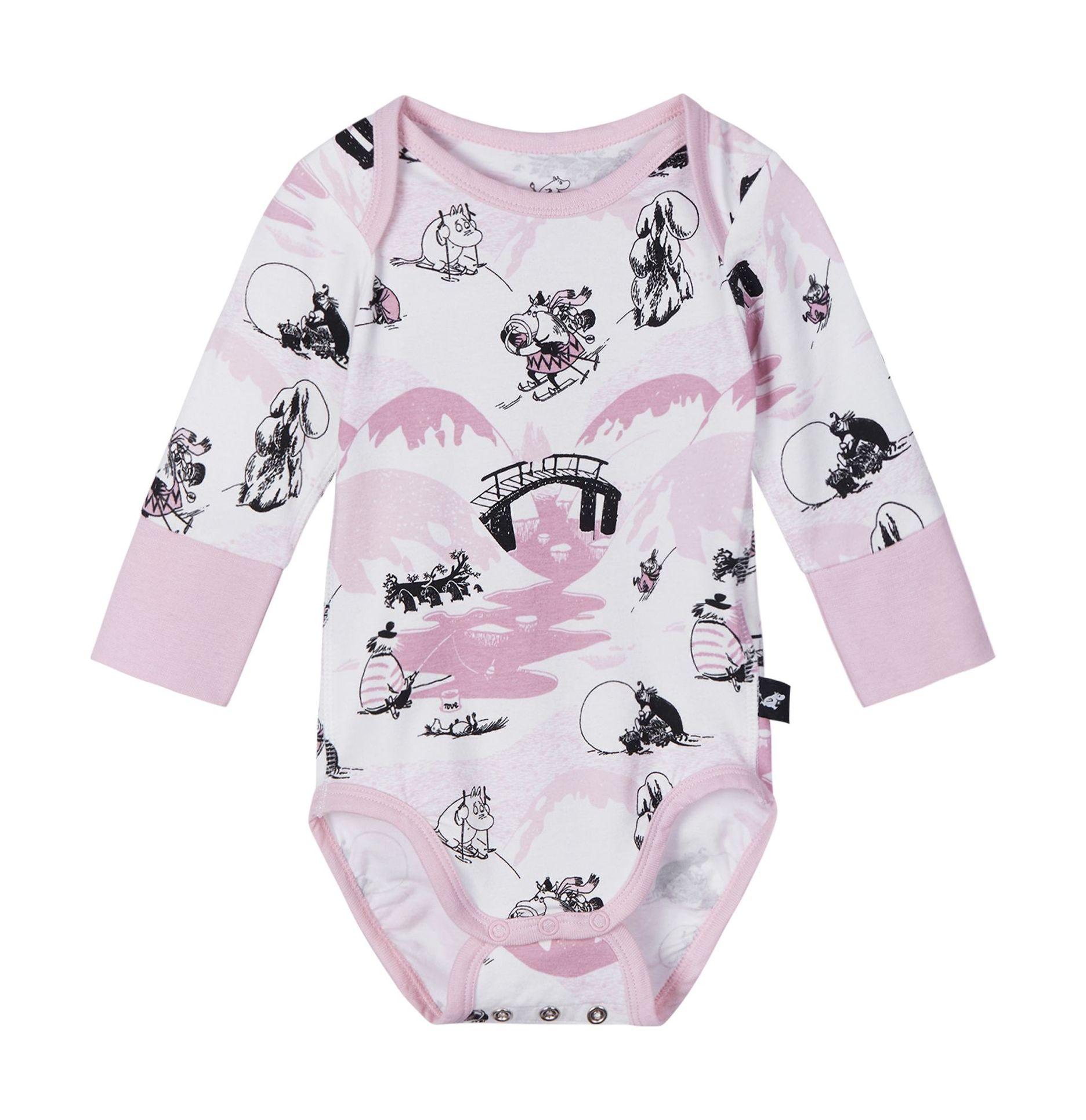 REIMA Moomin Snyggast Blush Pink 56-62