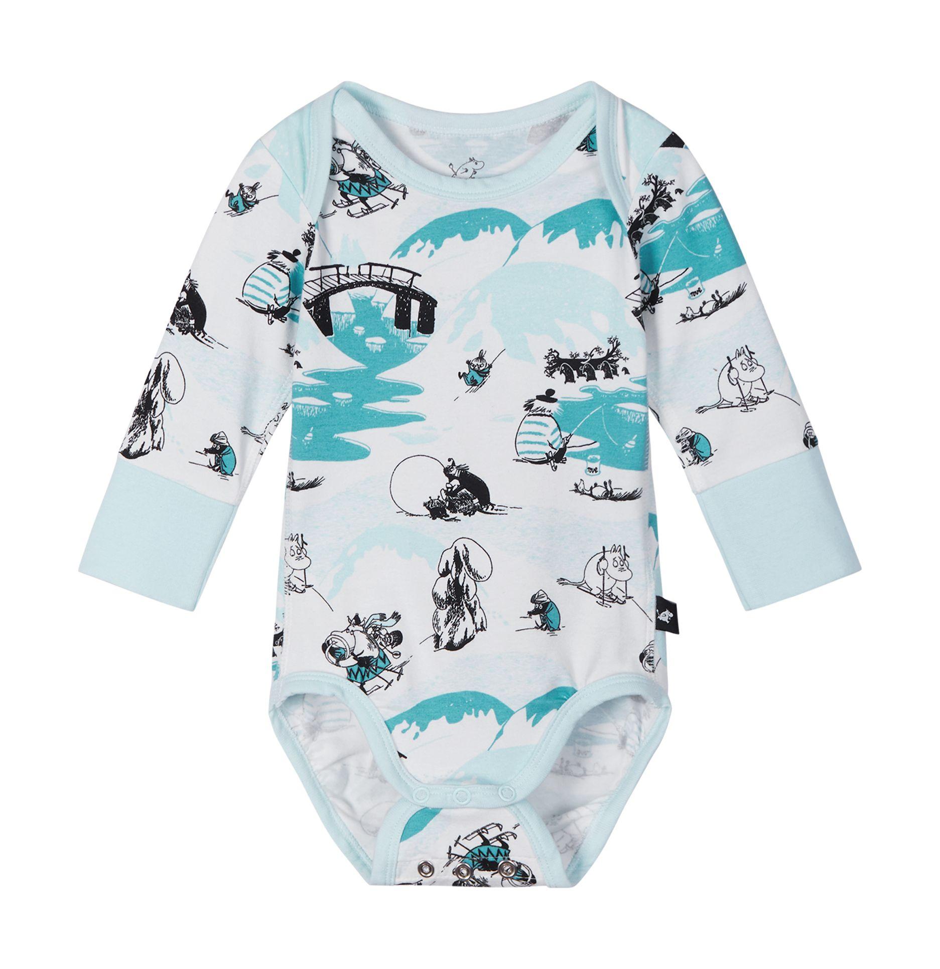 REIMA Moomin Snyggast Baby Blue 68-74