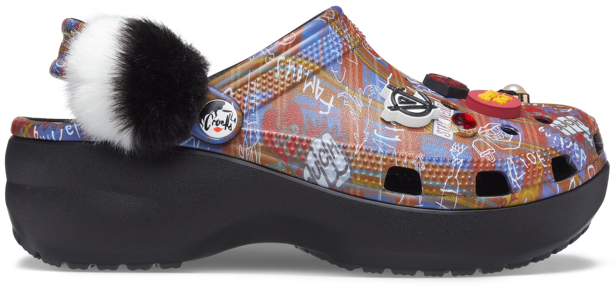 Crocs™ Classic Cruella II Platform Clog Women's Black 41