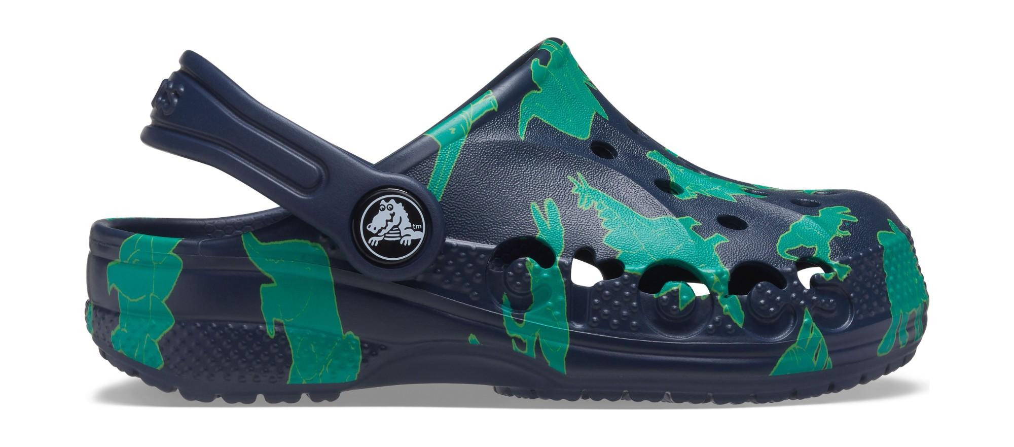 Crocs™ Baya Graphic Clog Navy/Multi 29