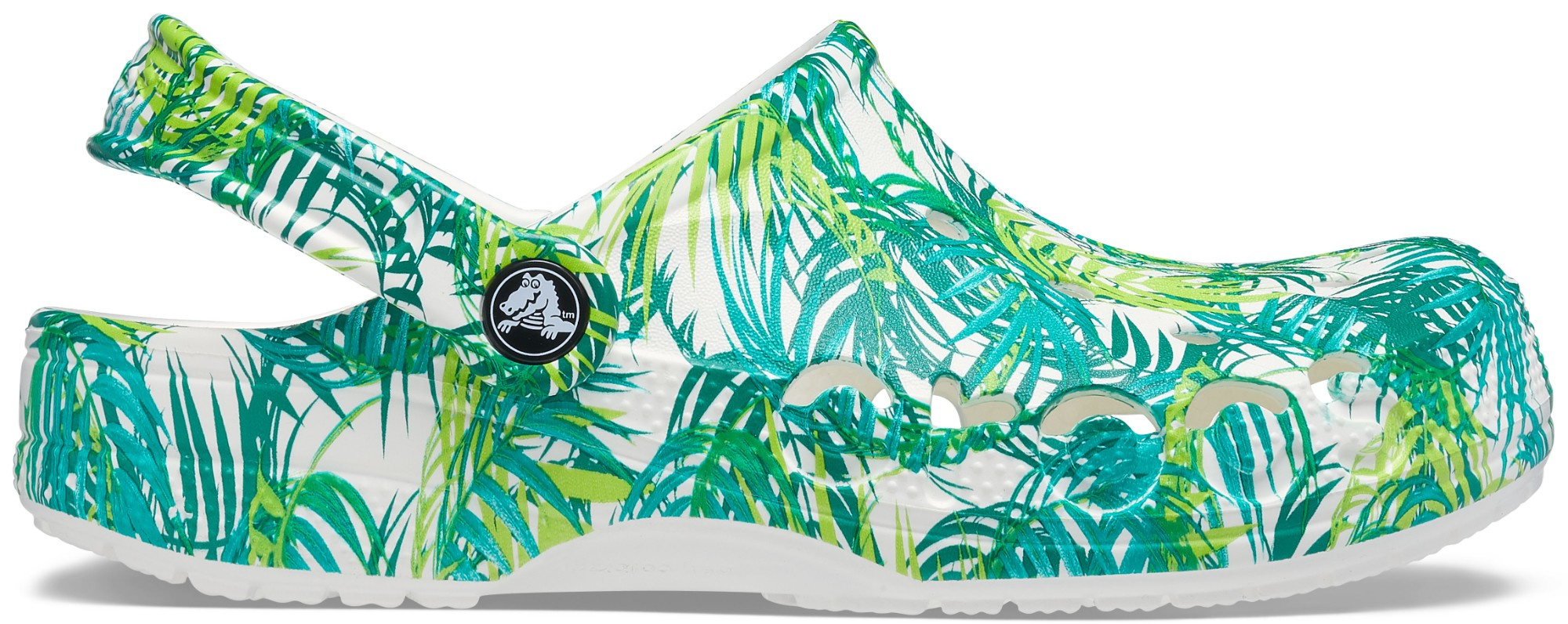 Crocs™ Baya Seasonal Printed Clog White/Tropical 36,5