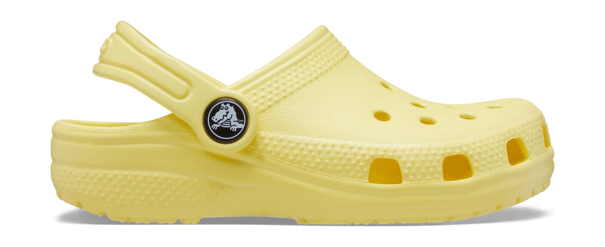 Crocs™ Kids' Classic Clog Banana 29