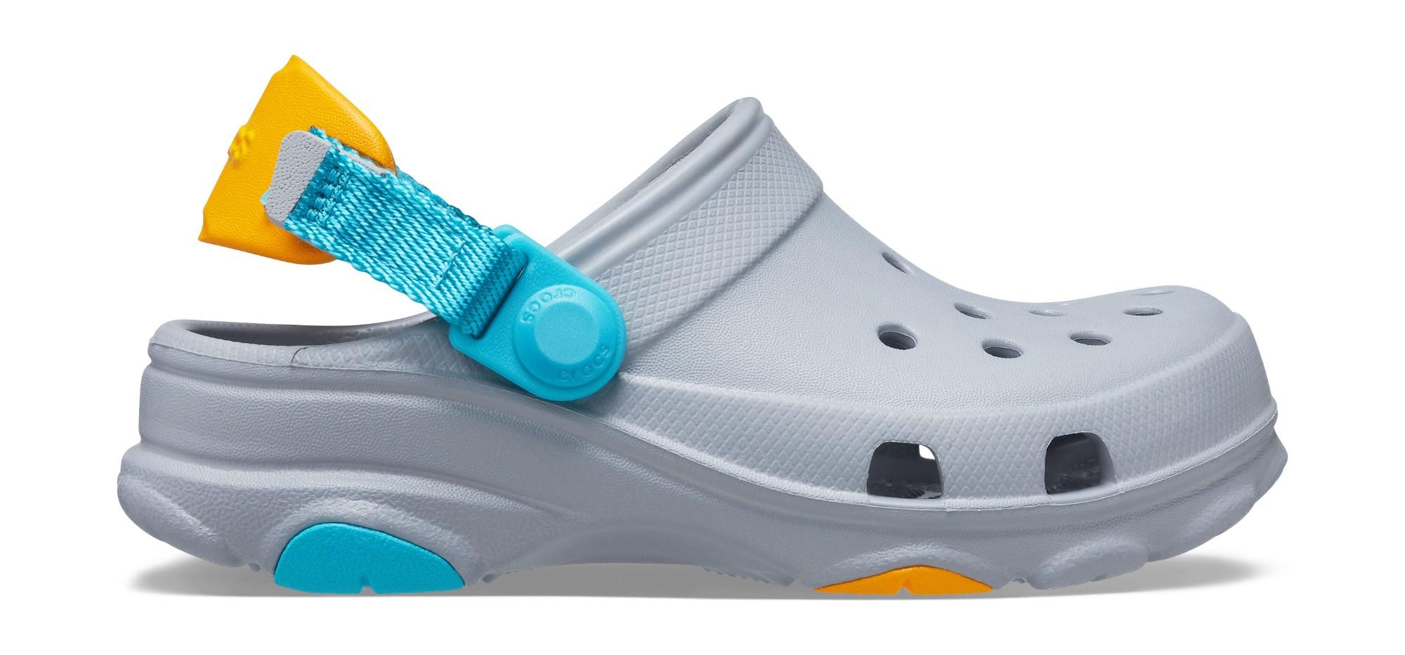 Crocs™ Classic All-Terrain Clog Kid's 207011 Light Grey 35
