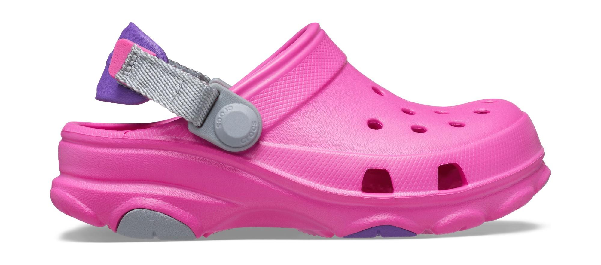 Crocs™ Classic All Terrain Clog Electric Pink 35
