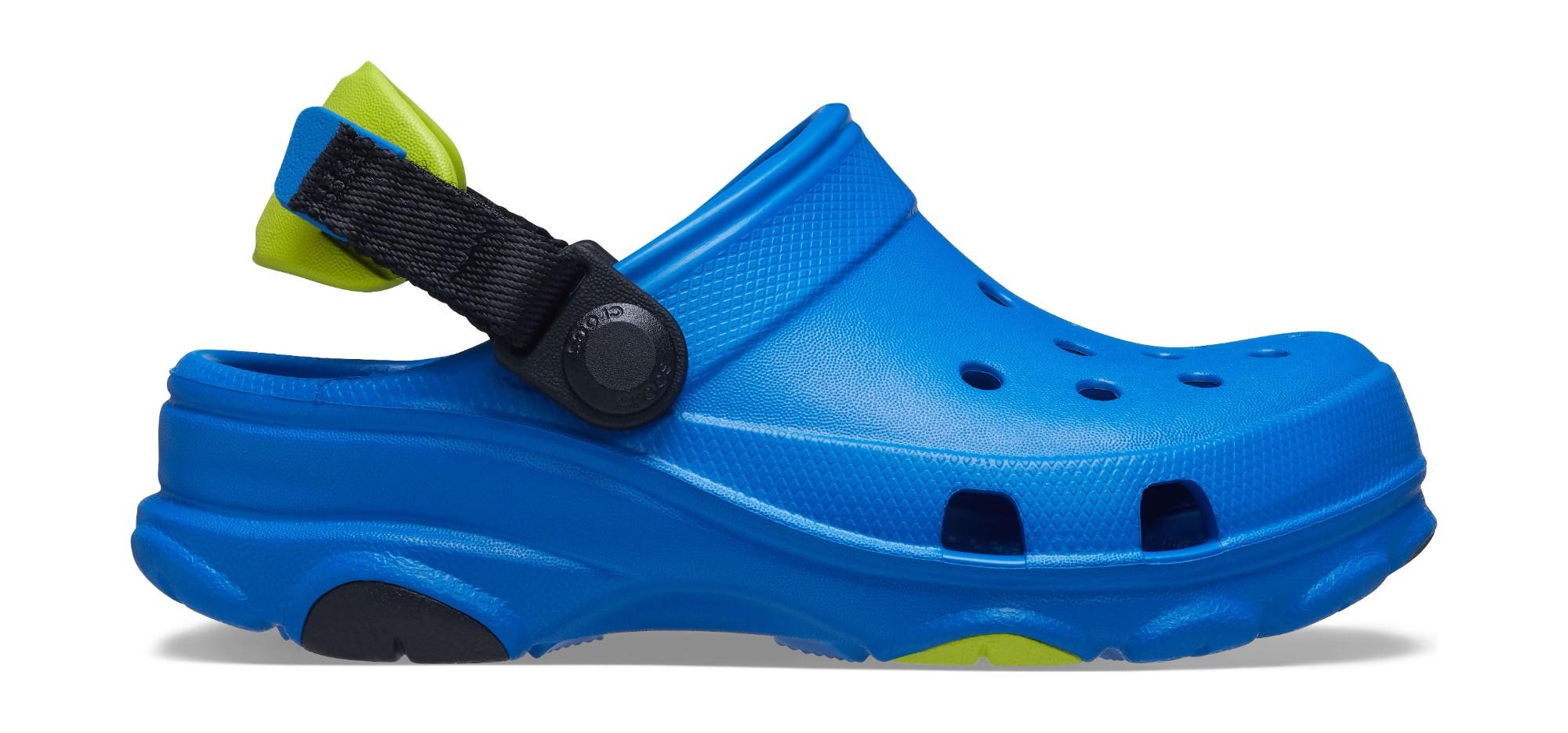Crocs™ Classic All-Terrain Clog Kid's 207011 Bright Cobalt 29