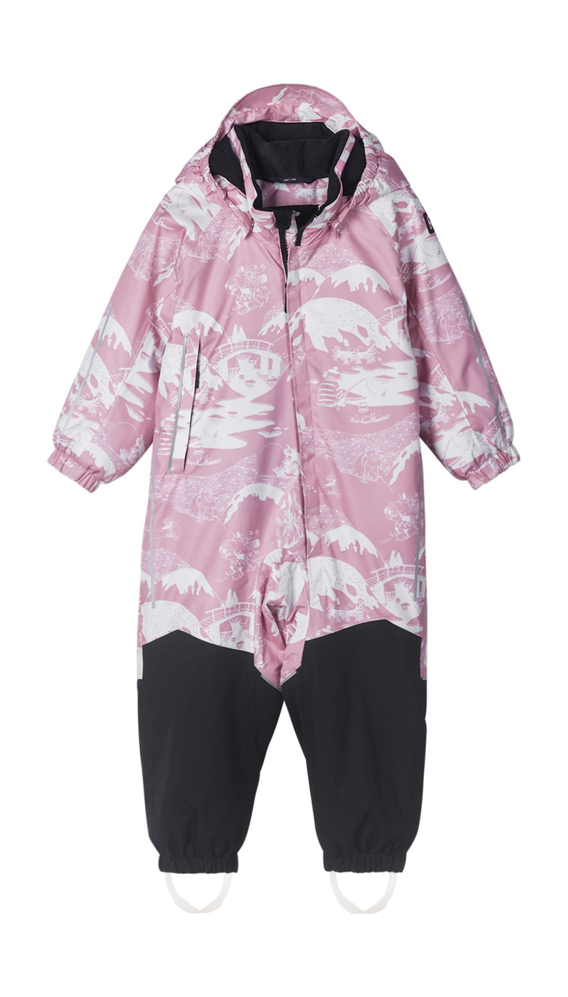 REIMA Moomin Lyster Rosy Pink 86