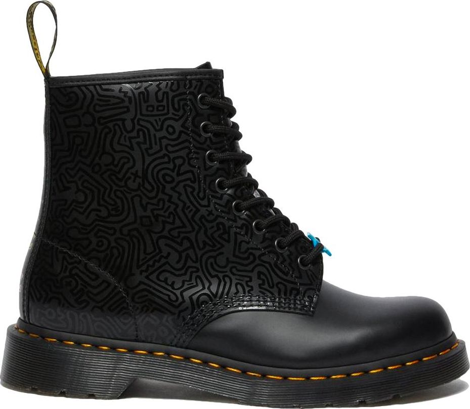 Dr. MARTENS 1460 Keith Haring Smooth 26832001 Black 37