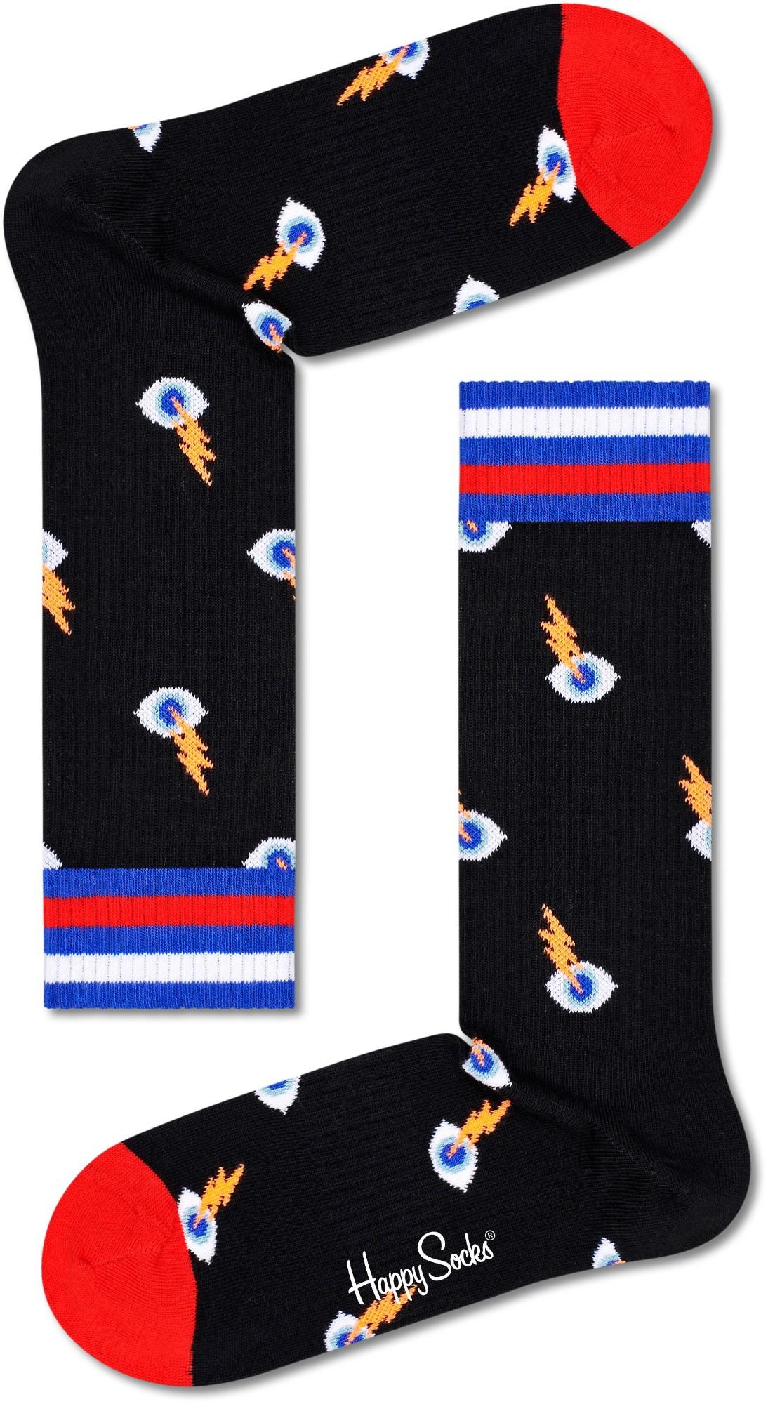 Happy Socks I See You Thin Crew Multi 9300 41-46