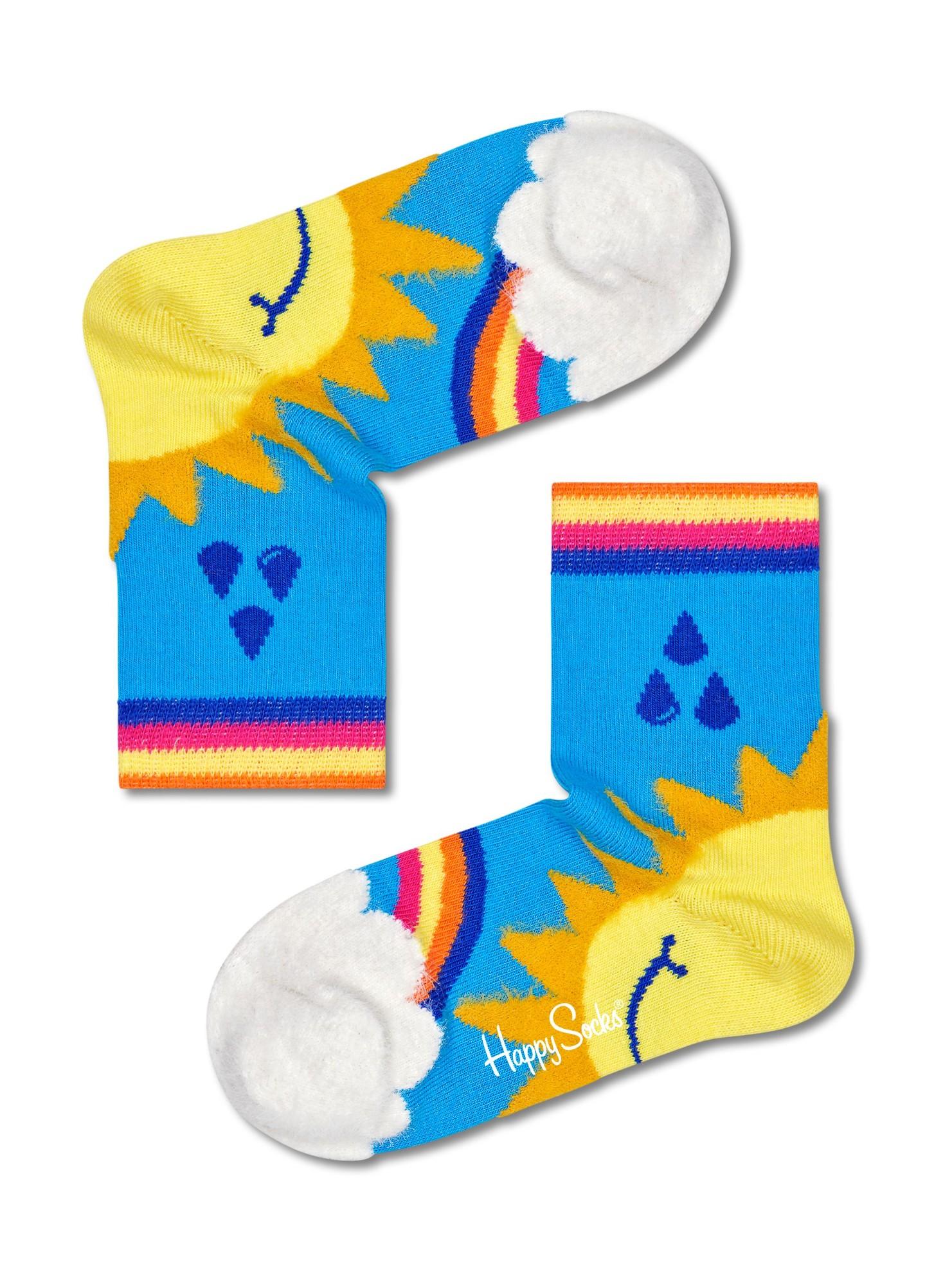 Happy Socks Kids Over The Rainbow Multi 0200 4-6Y