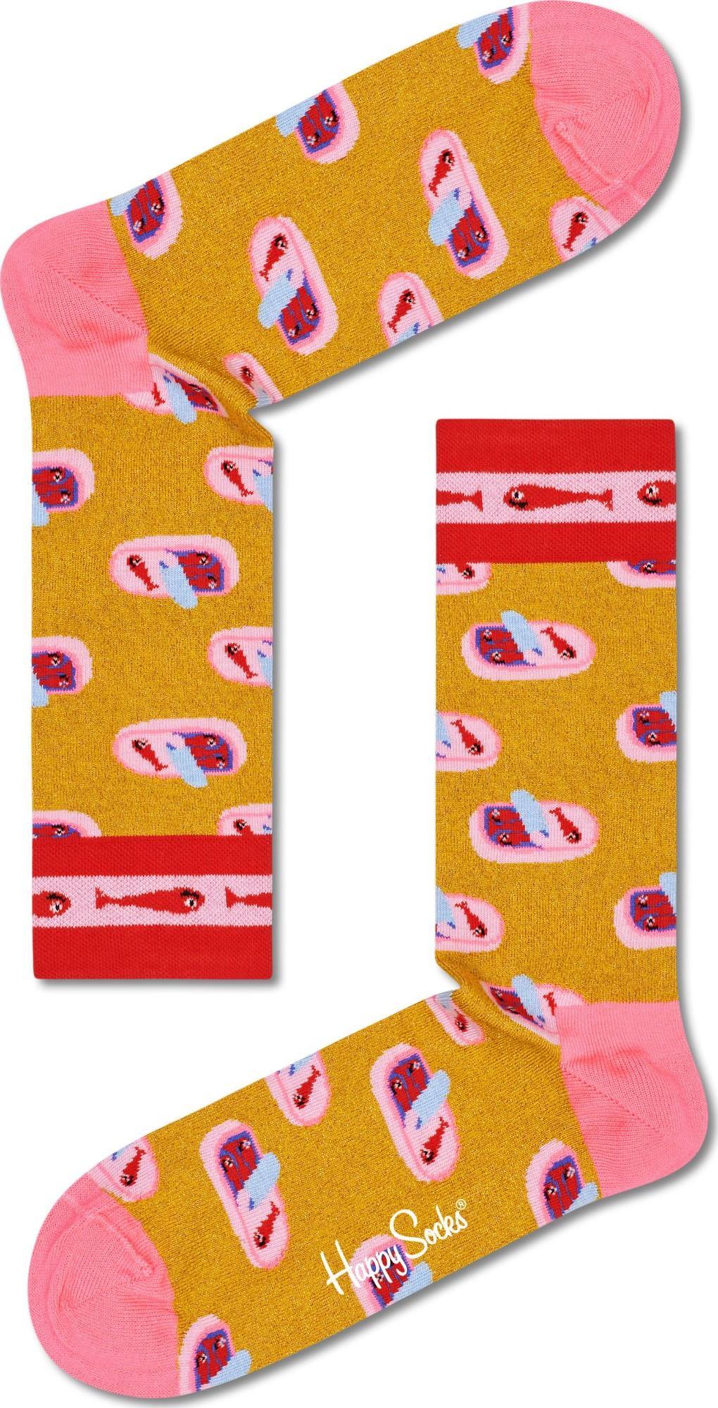 Happy Socks Sardines In A Tin Multi 2400 36-40