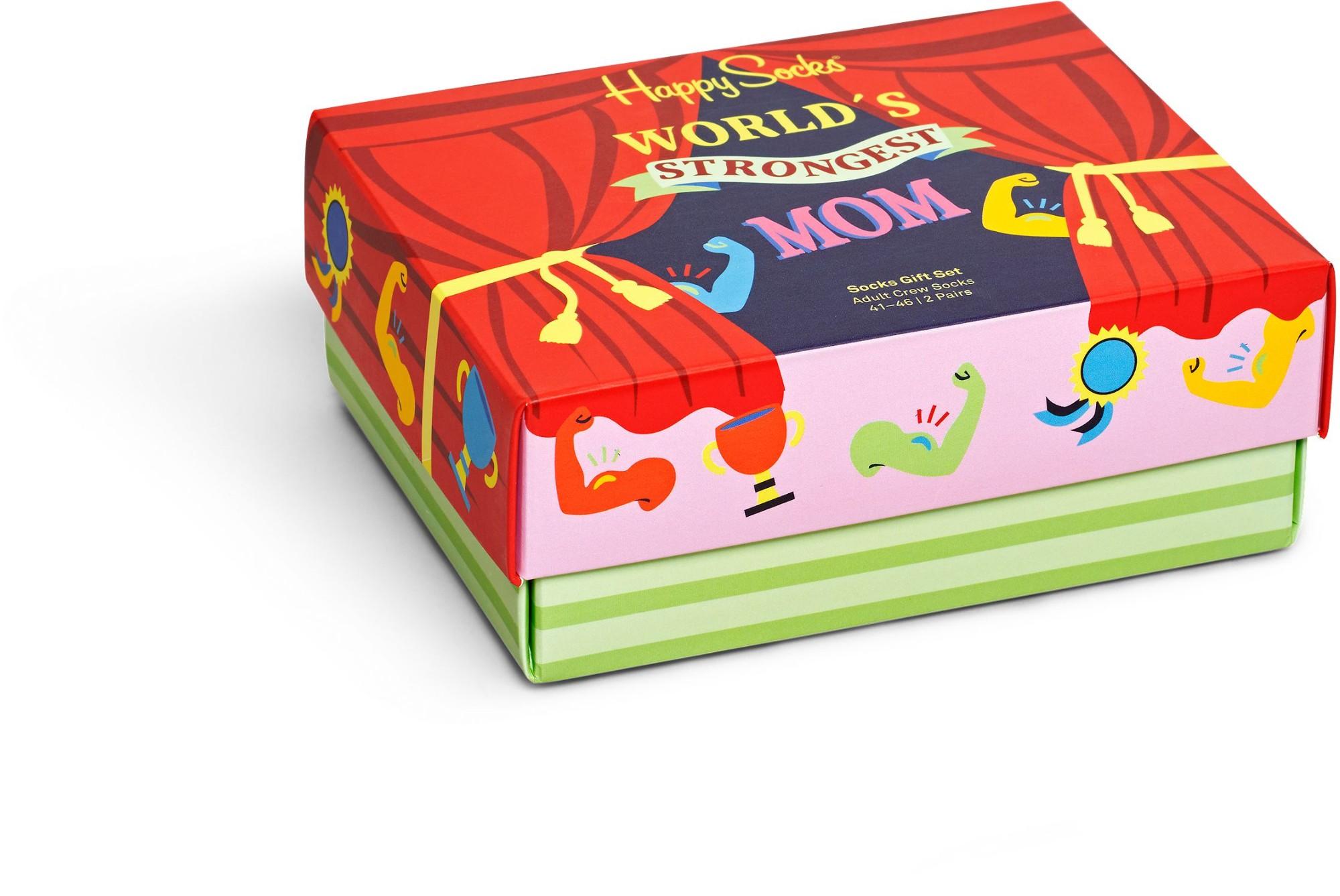 Happy Socks 2-Pack Mother´s Days Gift Set Multi 9300 36-40